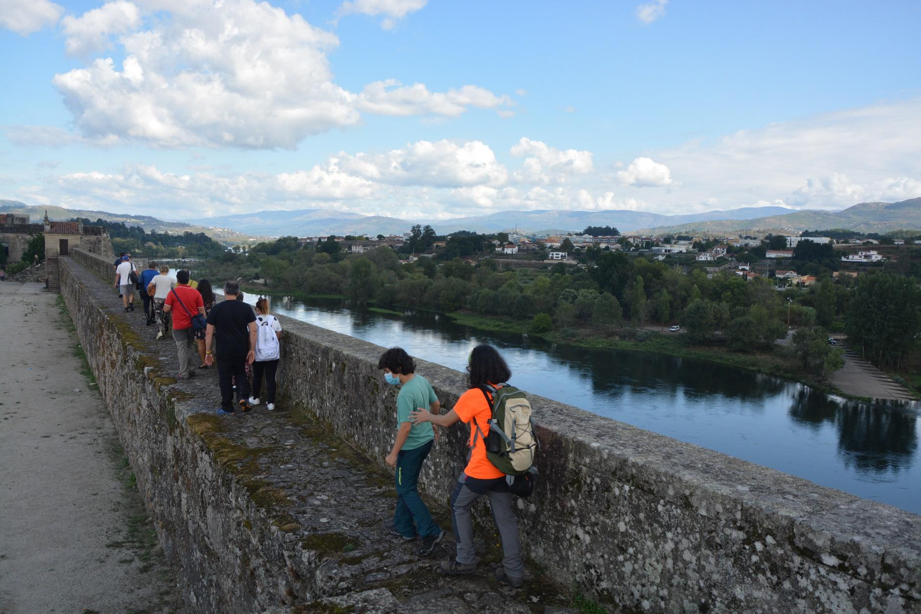 ruta de sendeirismo entre a desembocadura do Tamuxe e o porto de Goián
